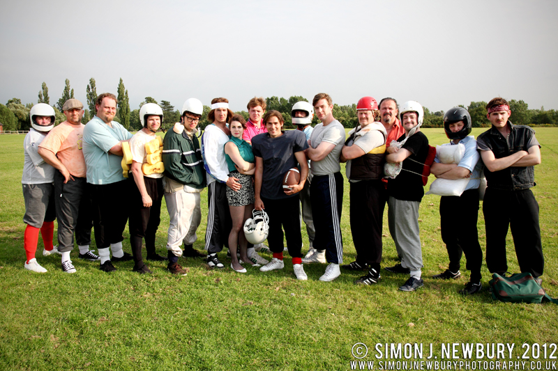 Gridiron UK Film Cast by Simon J. Newbury Photography
