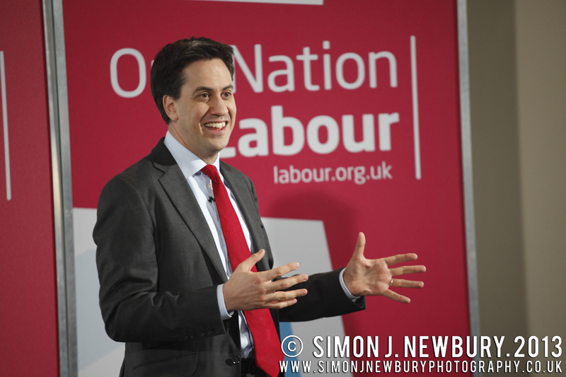 Ed Miliband MP visit to Crewe for a Q & A Session