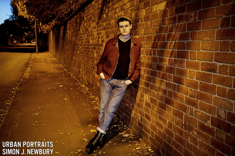 Urban, portrait, Crewe, Cheshire, Simon J. Newbury Photography