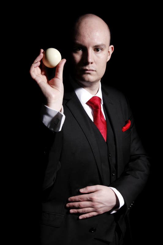 Cheshire Promo Pr Press Photography Magician Portrait