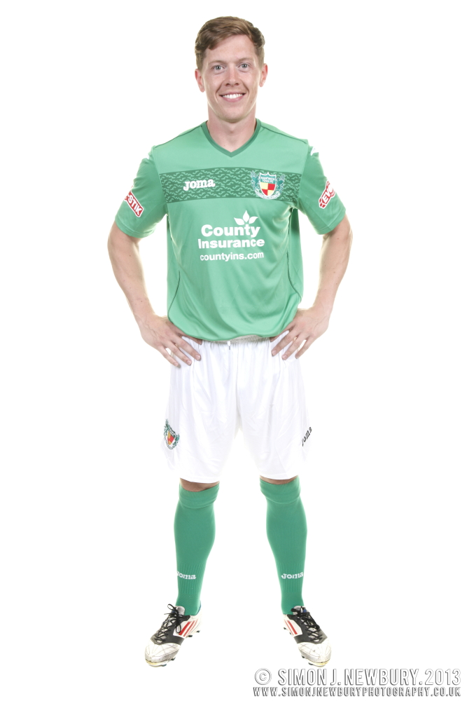 New Nantwich Town Kit 2013-14 commercial photography Cheshire Evostik Northern Premier League