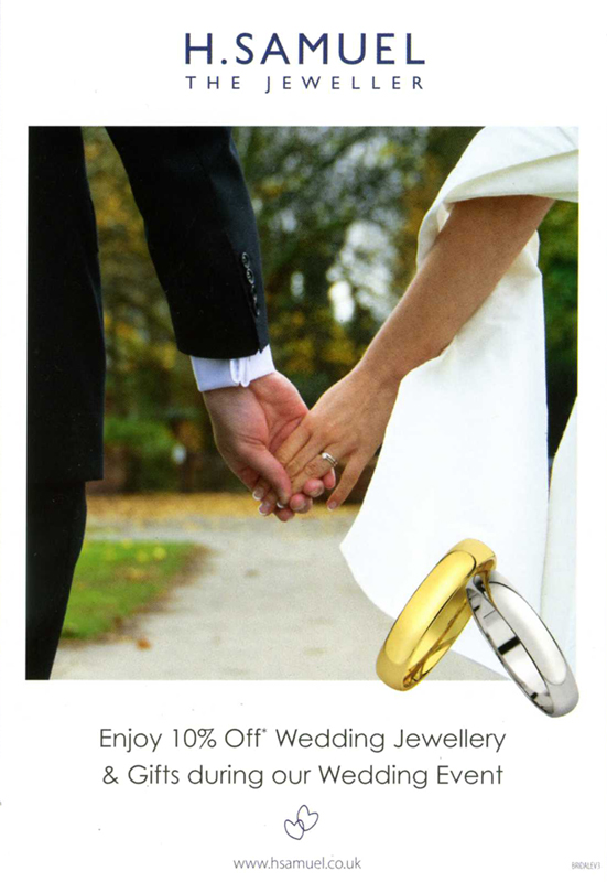 H. Samuel Wedding Event Crewe Cheshire