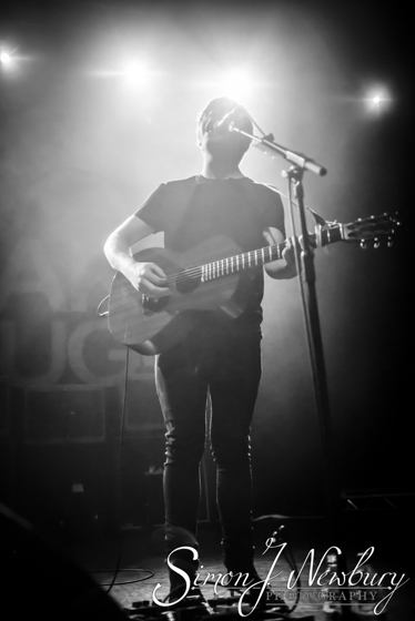 Jake Bugg live at Manchester Ritz. Live music photography. Cheshire music photographer