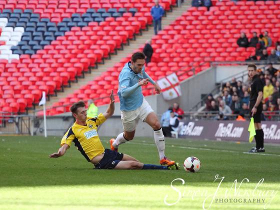 Professional press photographer based in Cheshire. FA Trophy Final 2014 - Cambridge United v Gosport Boroough