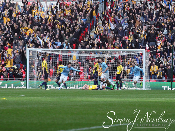 Professional press photographer based in Cheshire. FA Trophy Final 2014 - Cambridge United v Gosport Boroough