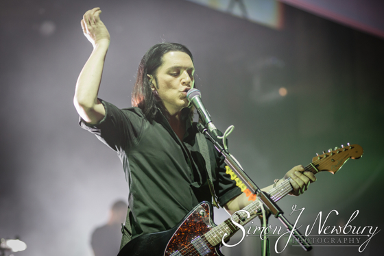 Placebo Live at Manchester Apollo. Live music photography Cheshire