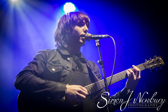 Jake Bugg live at Manchester Ritz. Live music photographer. Cheshire music photographer