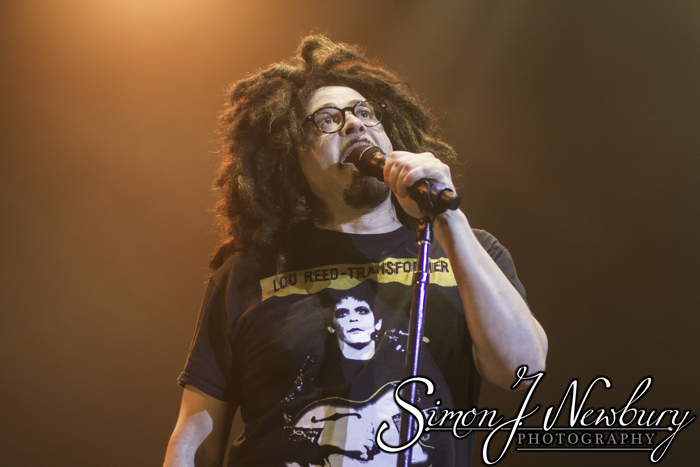 Counting Crows live in Manchester. Counting Crows live music photography. Cheshire live music photography. Live music photographer Cheshire & Manchester