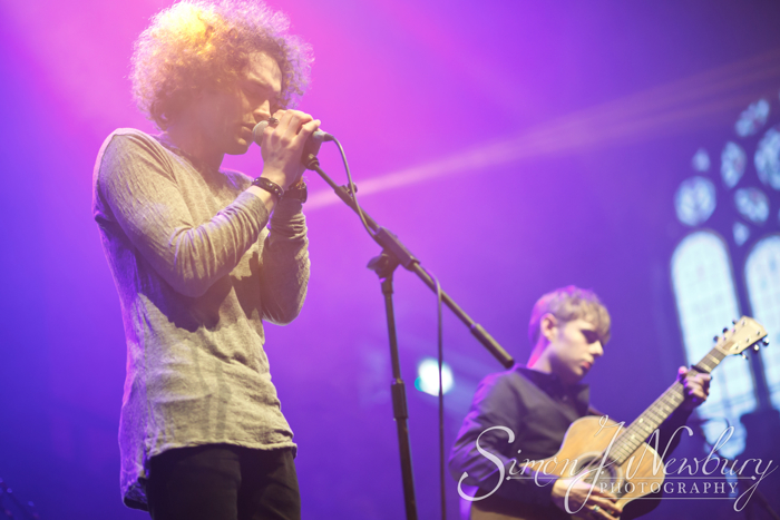 Seafret performs live at the Albert Hall in Manchester, UK