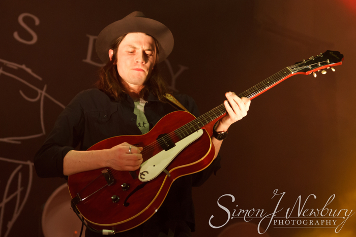 James Bay performs live at the Albert Hall in Manchester, UK