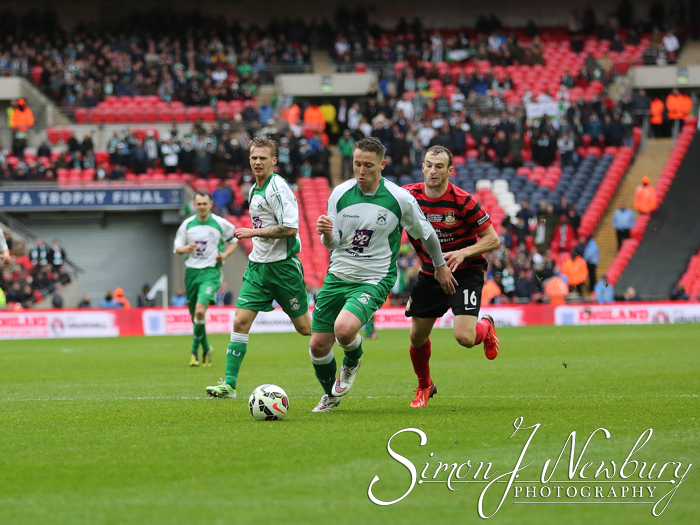FA Trophy Final Football photography North Ferriby v Wrexham