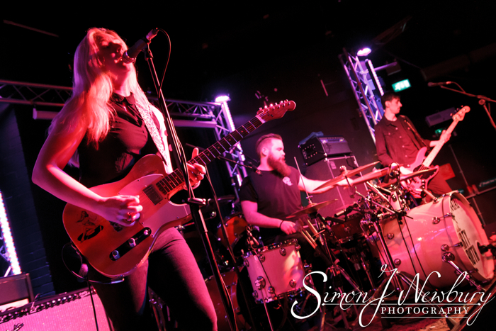 Joanne Shaw Taylor performing live at The Live Room's in Chester