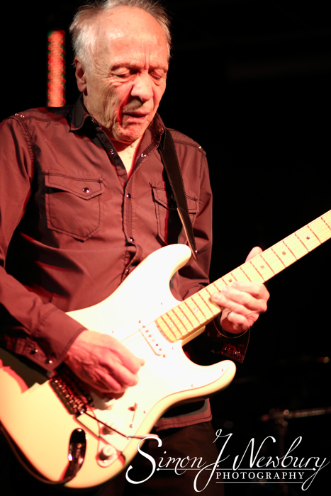 Robin Trower performs live at The Live Rooms in Chester, UK.