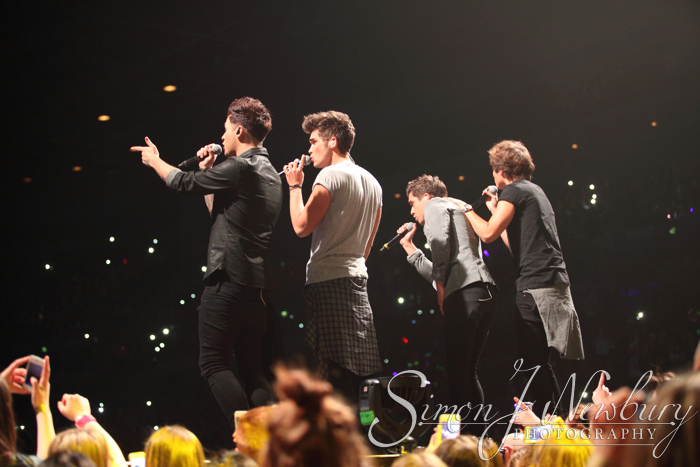 Union J live at Liverpool Echo Arena