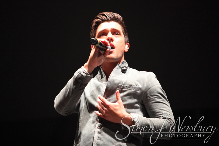 Union J live at Liverpool Echo Arena photography