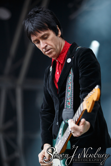 Johnny Marr live at Summer In The City, castlefield Bowl, Manchester. Cheshire music photography