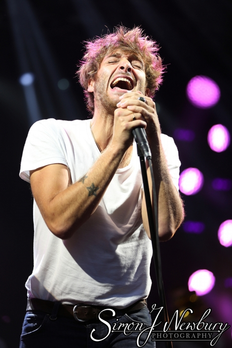 Music Photography: Paolo Nutini - Manchester. Summer in the City photos. Paolo Nuini live at Castlefield Bowl Manchester photography. Live music photography