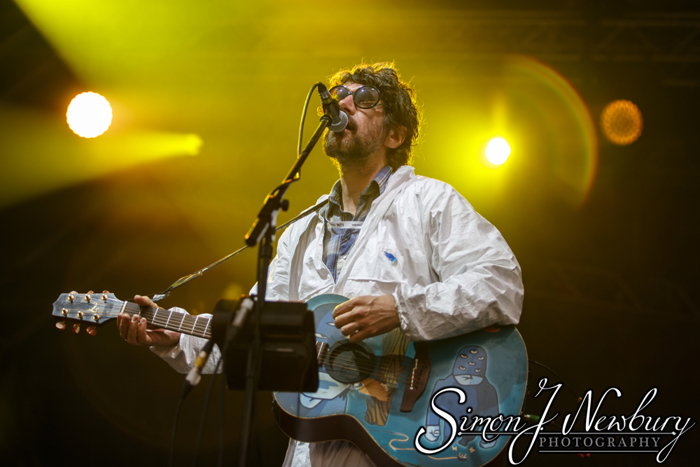 Music Photography: Super Furry Animals - Manchester Castlefield Bowl. Summer In the City live music photography. The Charlatans, Super Furry Animals, Blossoms live
