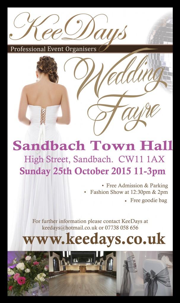 Sandbach wedding fayre