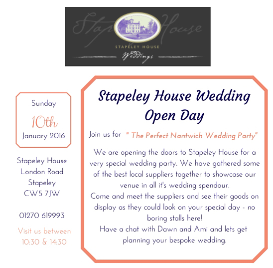 Stapeley house wedding photography nantwich
