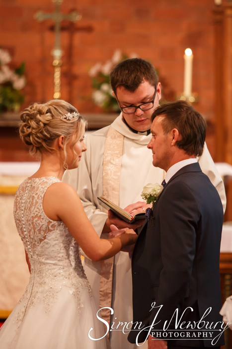 All Saints Church Weston wedding photography
