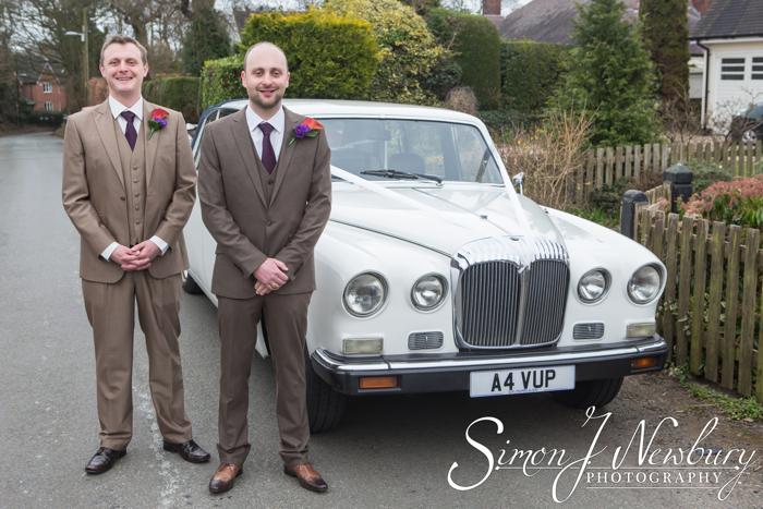 St Helen's Cheshire wedding photography