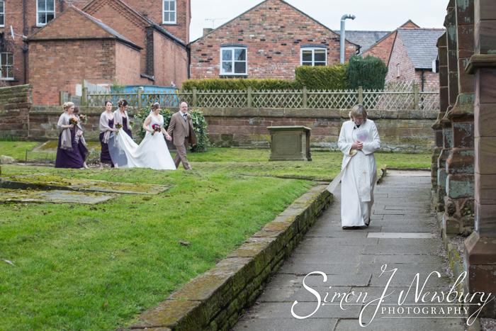Wedding Photography: St Helen's Church Tarporley Cheshire