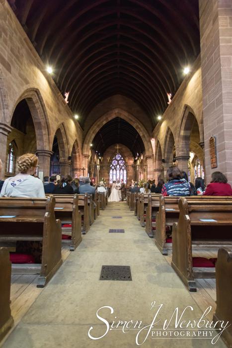 St Helens in Tarporley wedding photography