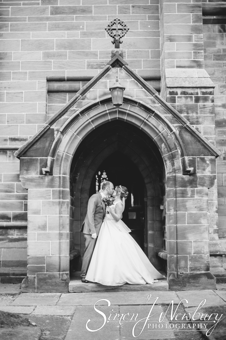 St Helen's Church wedding photography