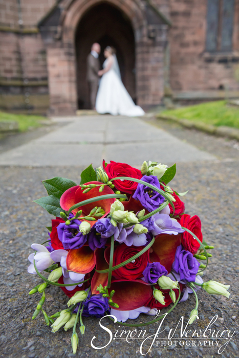 Wedding Photography: St Helen's Church Cheshire - Jenny and John. Cheshire wedding photography in Tarporley