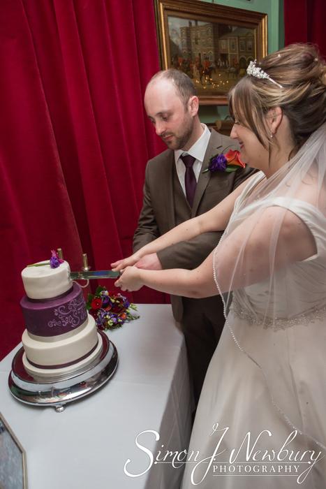 wedding photography at The Swan Tarporley