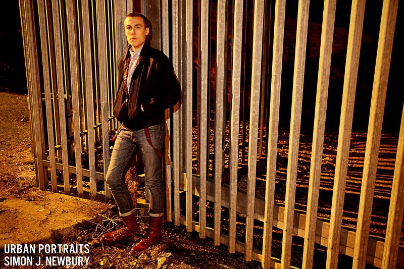 Urban, portrait, Crewe, Cheshire, Simon J. Newbury Photography