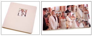One of our wedding photography books