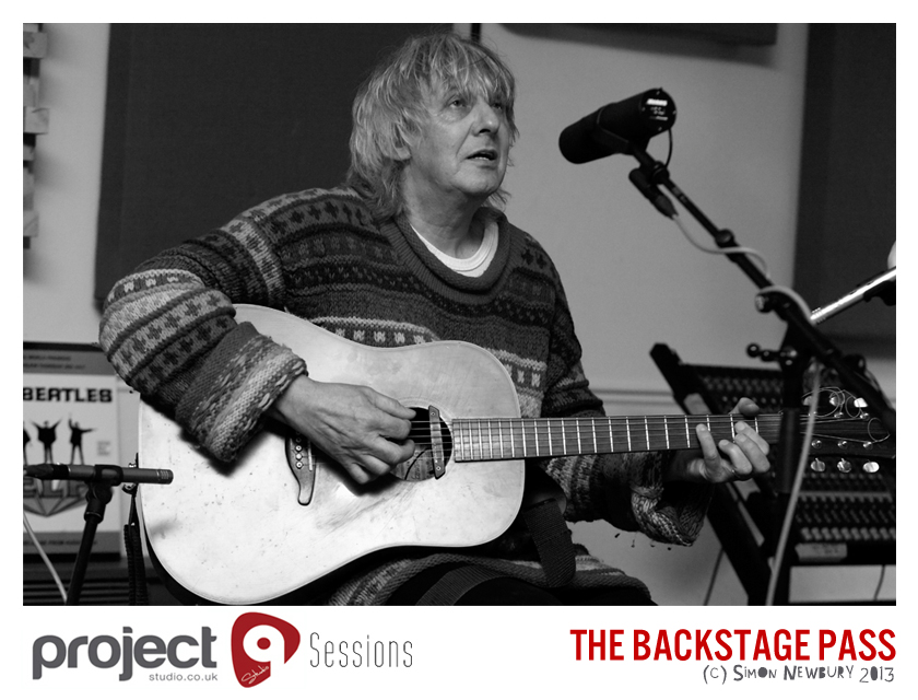 George Borowski recording sessions for The Backstage Pass
