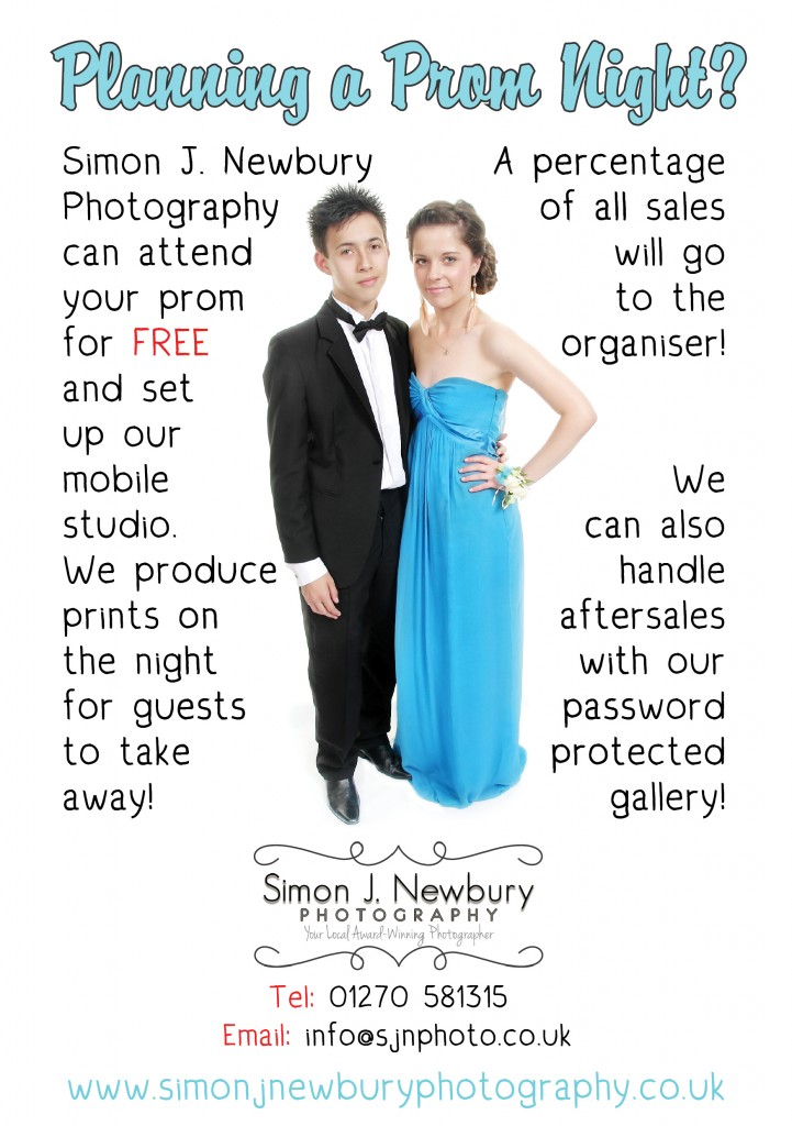 Prom Night Photography from Simon J. Newbury Photography. Event Photographer