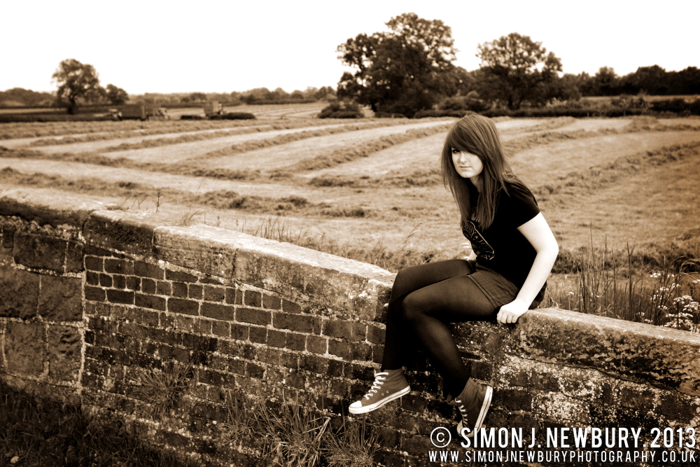 Beth England Music Promo Photography, Cheshire