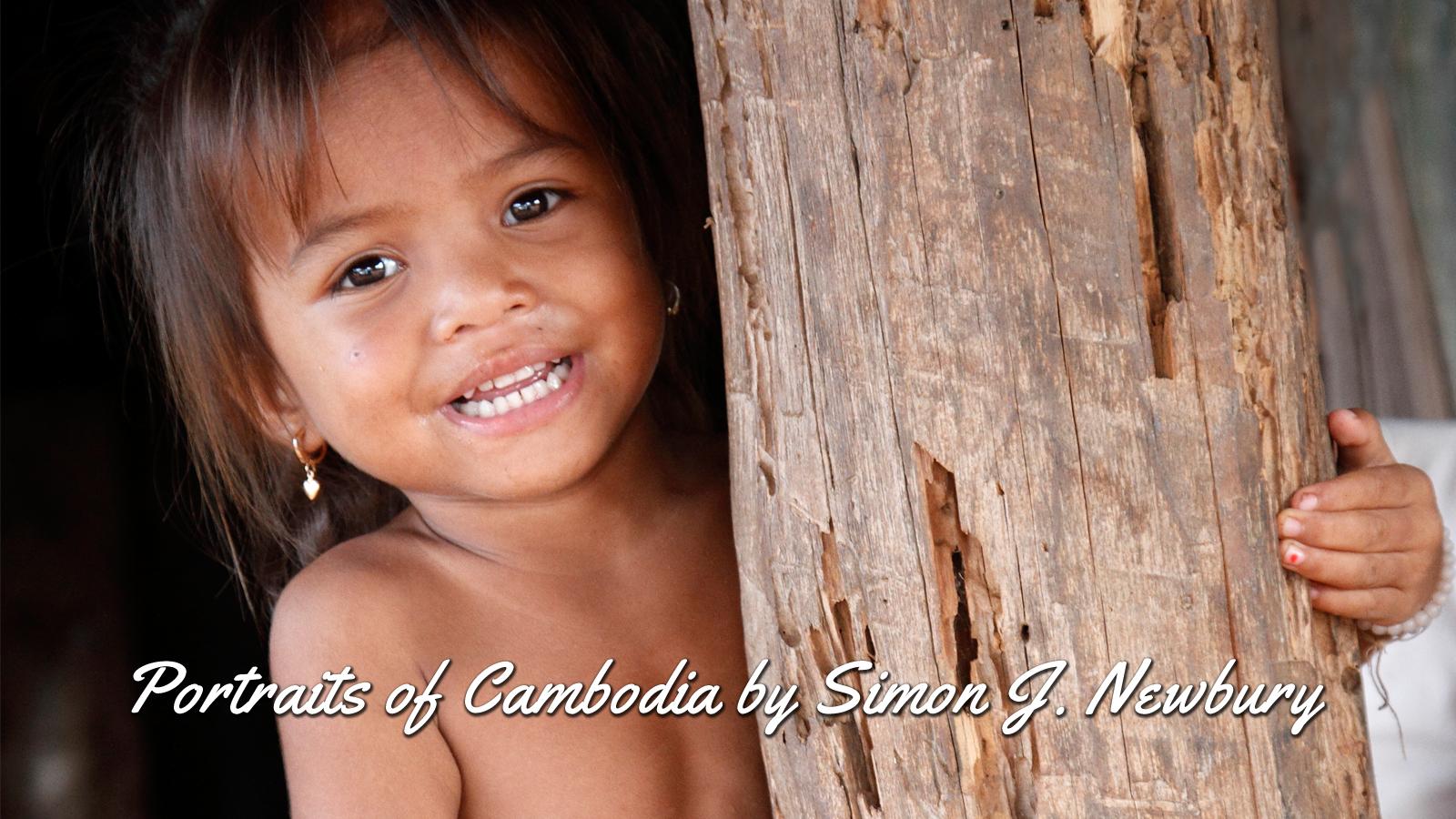 Cambodia Portraits by Simon J. Newbury Photography