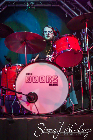 Doors Alive At The Box, Crewe. Live music photography Cheshire