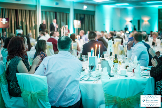 Swansway Long Service Dinner. Cheshire Commercial Photography