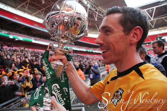 Professional press photographer based in Cheshire. FA Trophy Final 2014 - Cambridge United v Gosport Borough