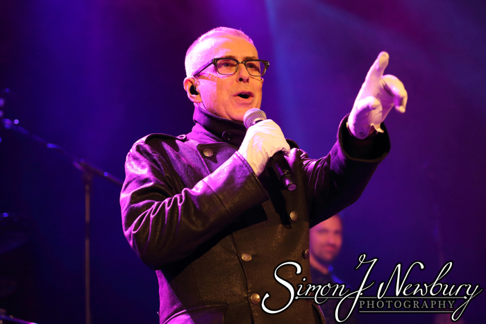Holly Johnson live in Manchester. Live music photography. Cheshire music photography. Live music photography. Holly Johnson live at Manchester Academy photos