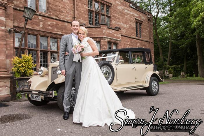 Wrenbury Hall wedding photos