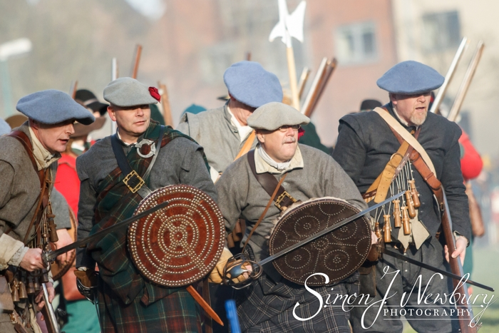 Press Photography: Battle of Nantwich 2015. Cheshire press photography. Press photographer in Cheshire. Holly Holy Day, Nantwich, Cheshire 2015. Nantwich photos