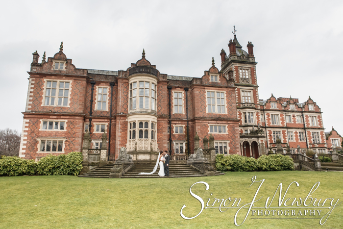Crewe Hall wedding photography - the wedding of Phinit & Glynn at Crewe Hall Hotel, Crewe, Cheshire. Crewe Hall wedding photos - wedding photographer Crewe Hall