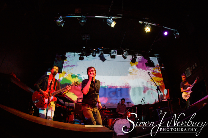Stoke-On-Trent, Staffordshire, UK. 22nd April, 2016. The Bluetones perform live at The Sugarmill on their 20th Anniversary Jukebox Tour.