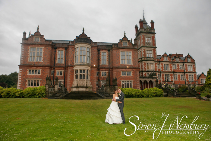 Crewe Hall Hotel wedding photography